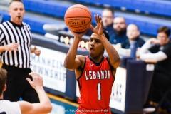 2019-20 Lebanon at Manheim Twp Boys Basketball